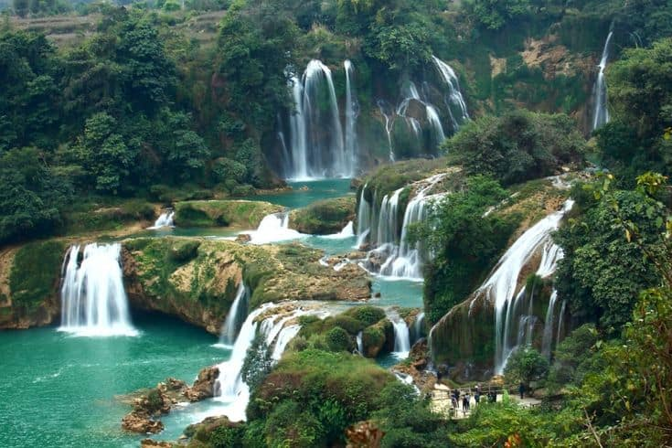 Silver Waterfall in Sapa