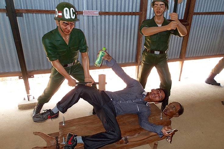 What to see in Phu Quoc prison - Human-Sized Dolls and Re-enactments