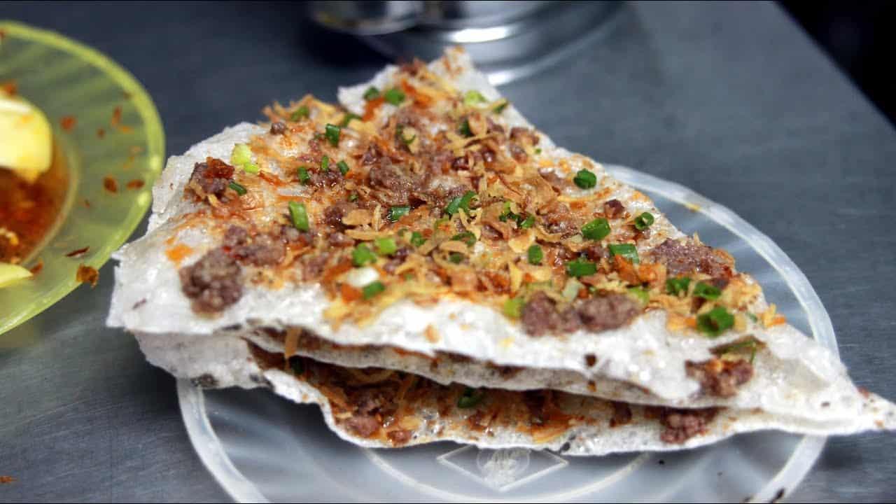 Banh Trang Nuong - Grilled Girdle Cake