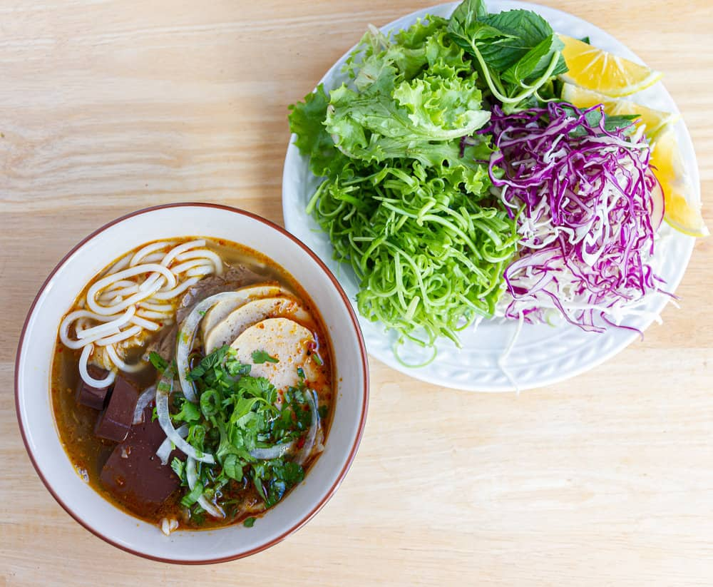 Bun Bo Hue - Hue-styled beef noodles