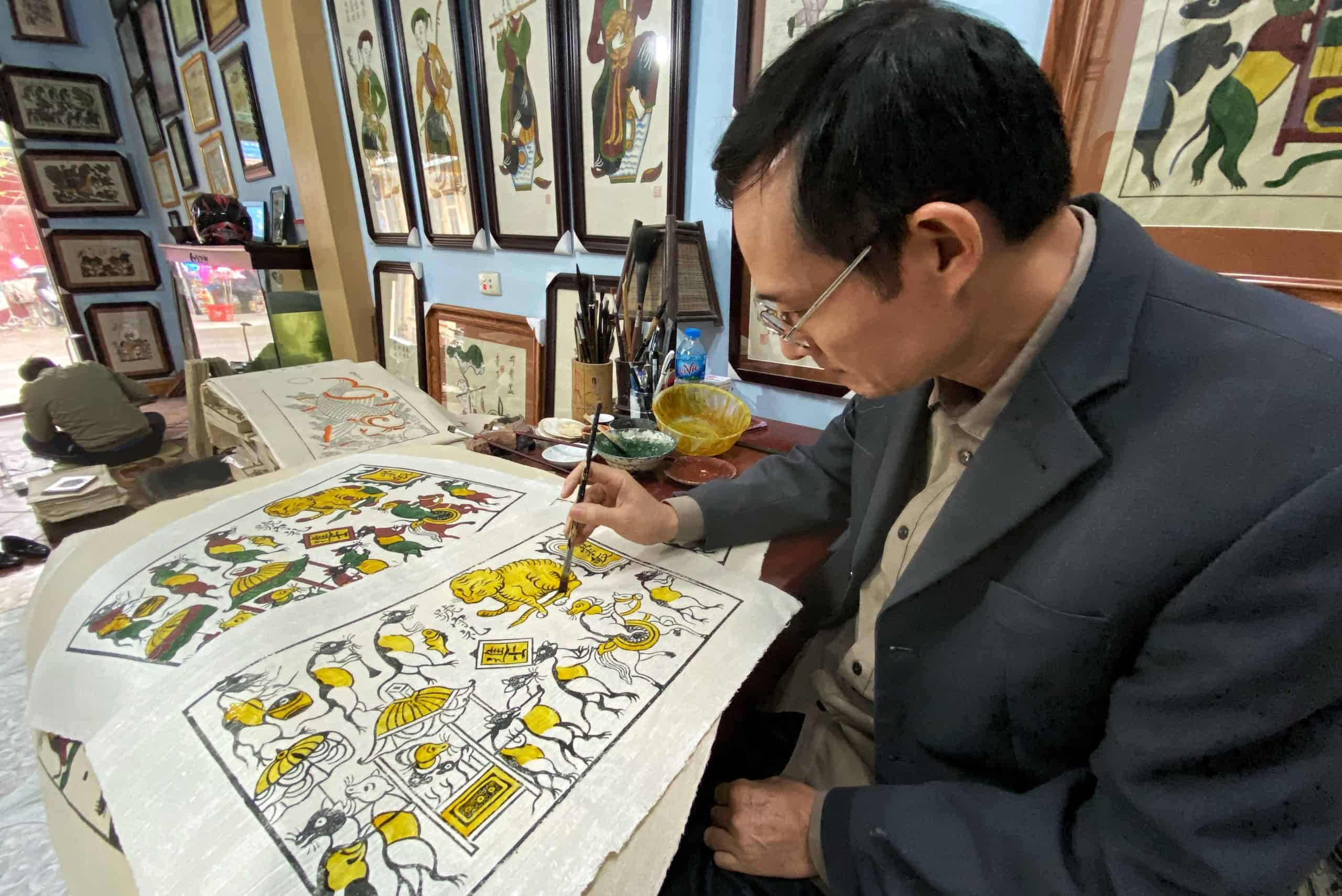 Dong Ho Folk Painting Village