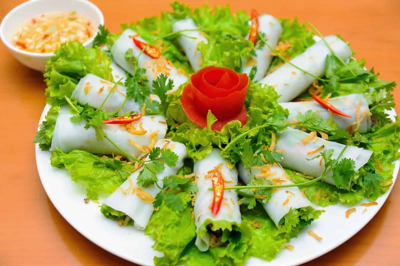 Pho Cuon - Rolled Noodle