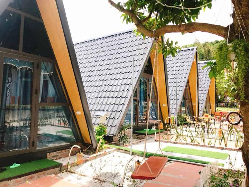 A homestay on Quan Lan island