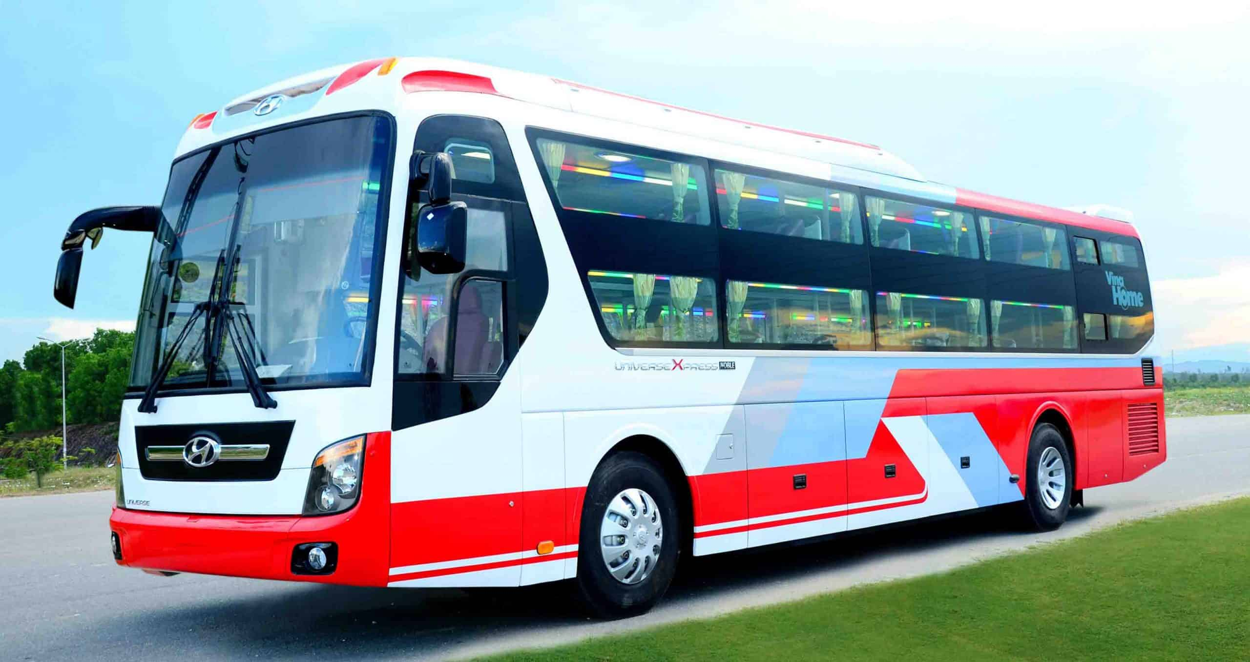 Get from Hanoi to Halong Bay by local bus