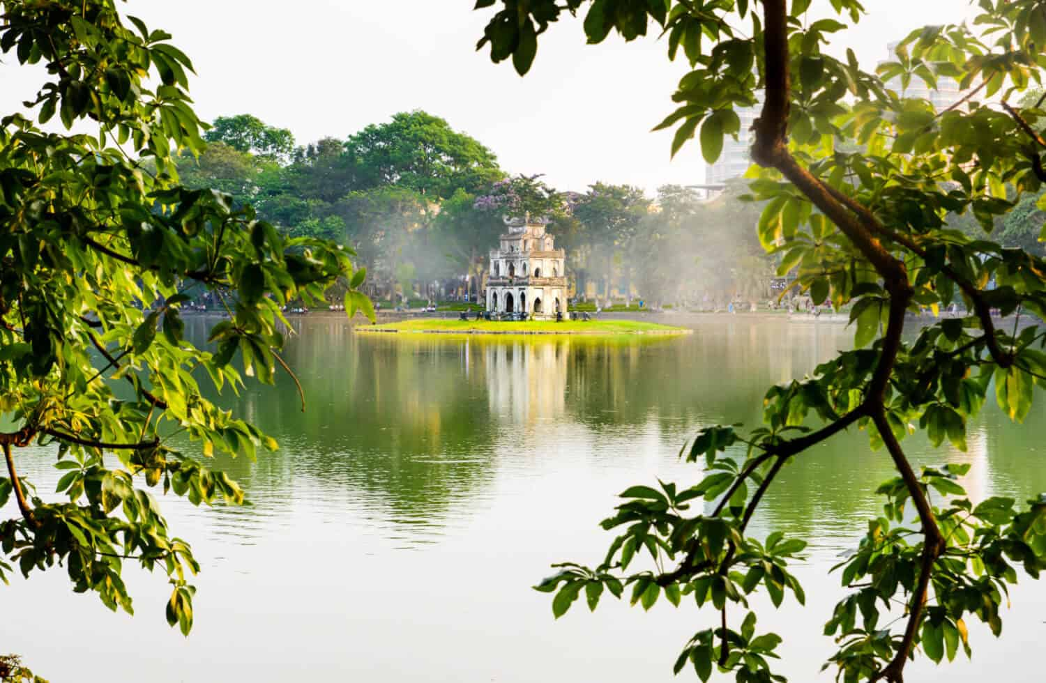 Itinerary for the first morning in Hanoi - Hoan Kiem Lake
