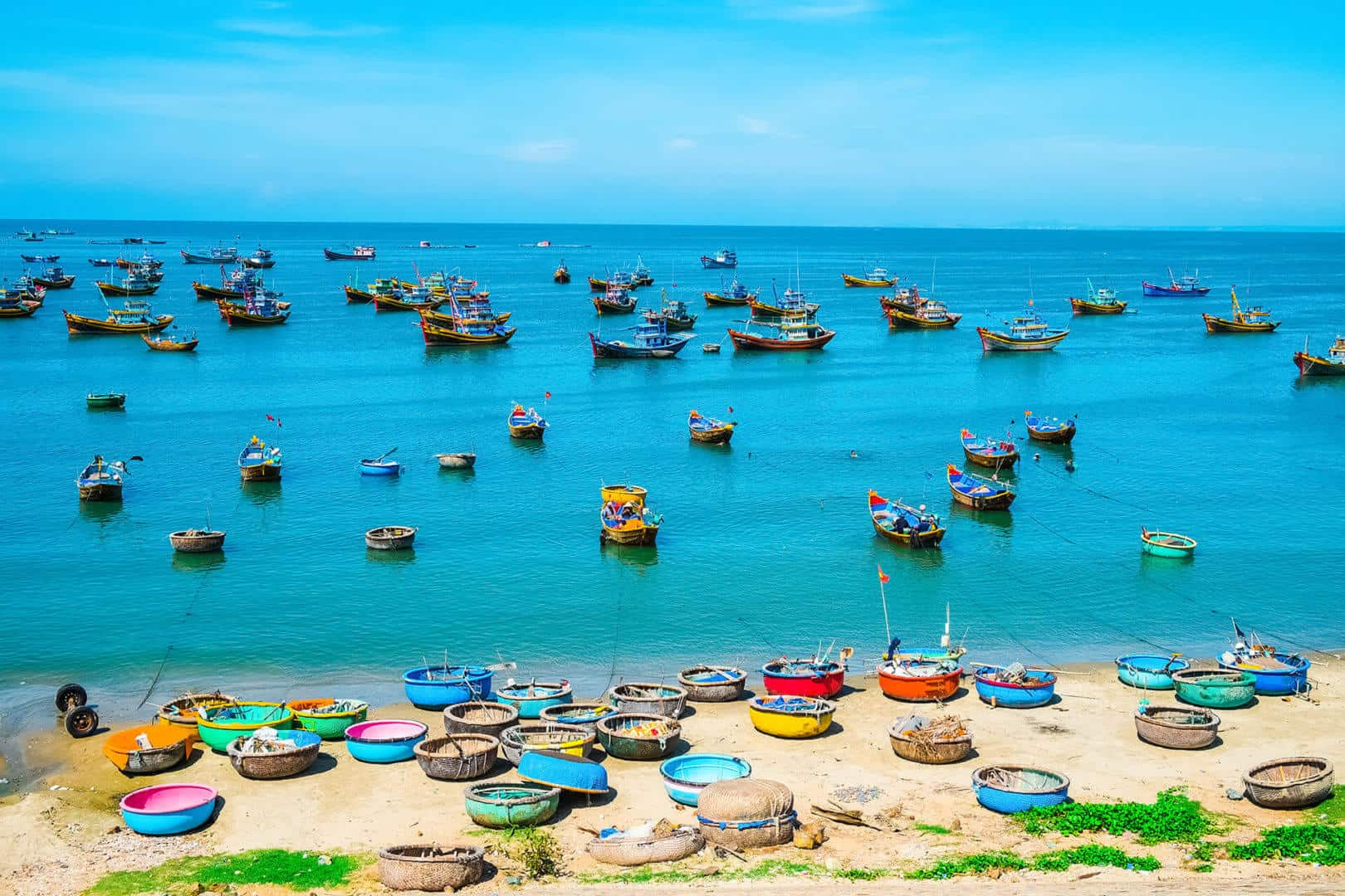Mui Ne fishing village in Phan Thiet