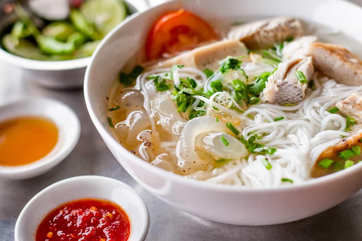 Nha Trang jellyfish noodles