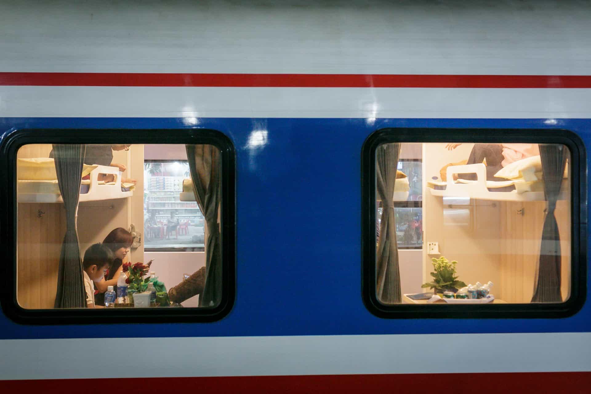 Punctuality on Vietnam trains