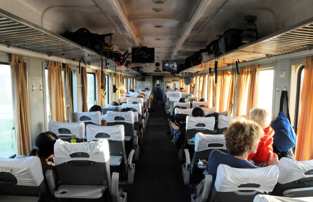 Travel from Hanoi to Halong Bay by train