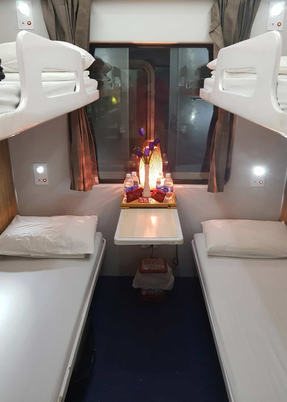 Vietnam overnight train bed options