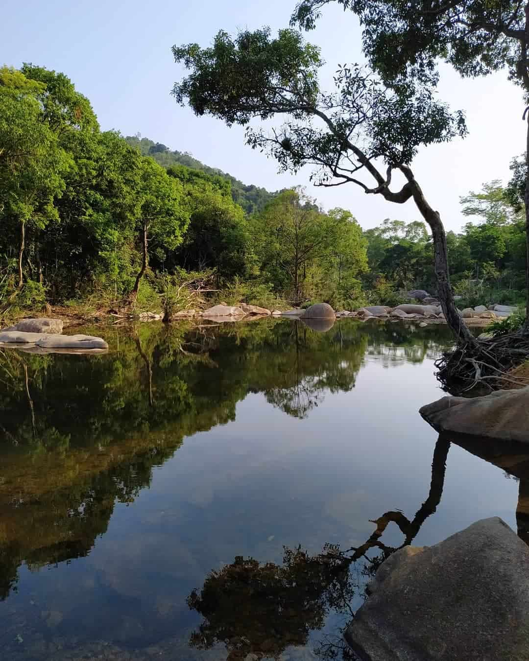 What to see and do in Ba Ho waterfalls