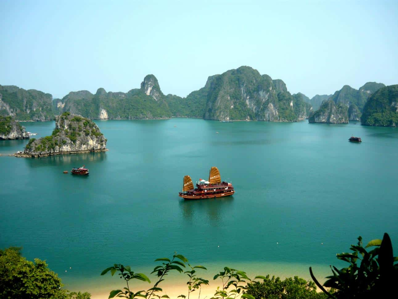 Where is Halong Bay
