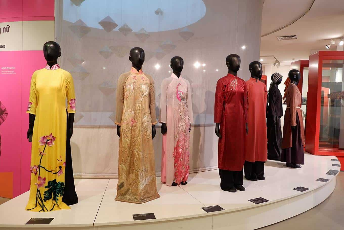 Women fashion in Vietnamese women's museum