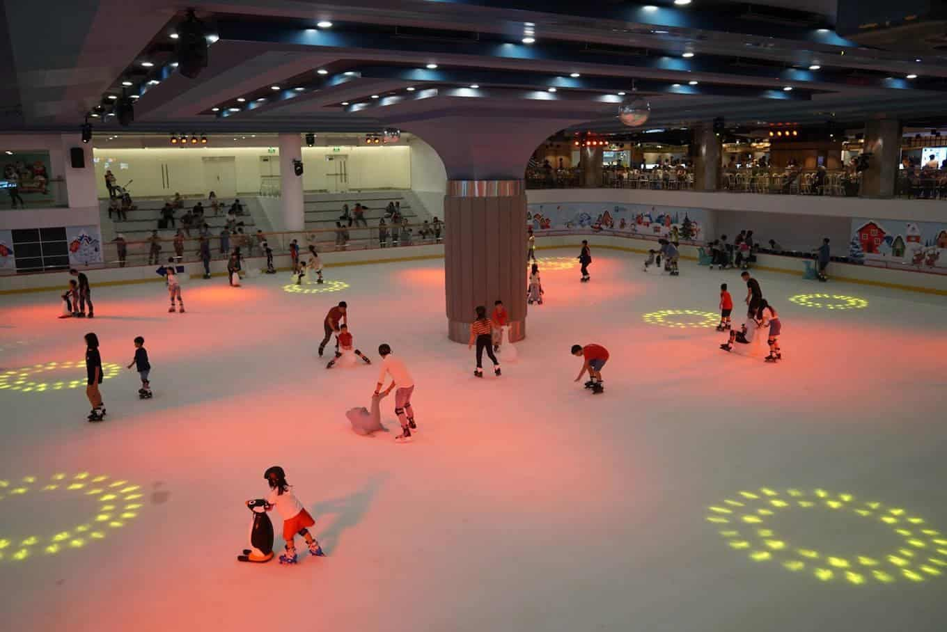 Ice Skating in Ho Chi Minh