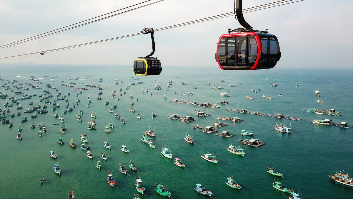 Ride the Phu Quoc Cable Car - Things to do in Vietnam with kids