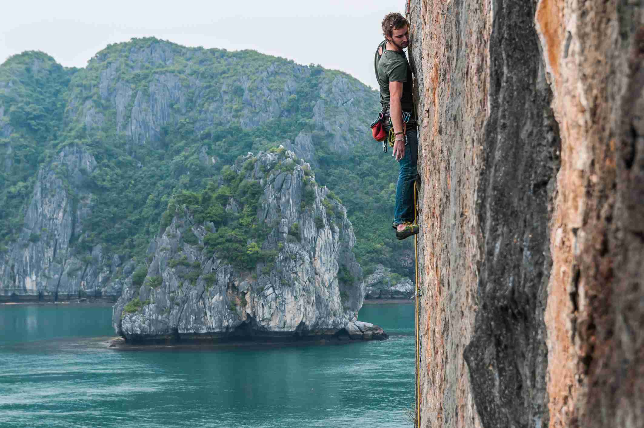 Rock Climbing in Halong Bay and Cat Ba Island