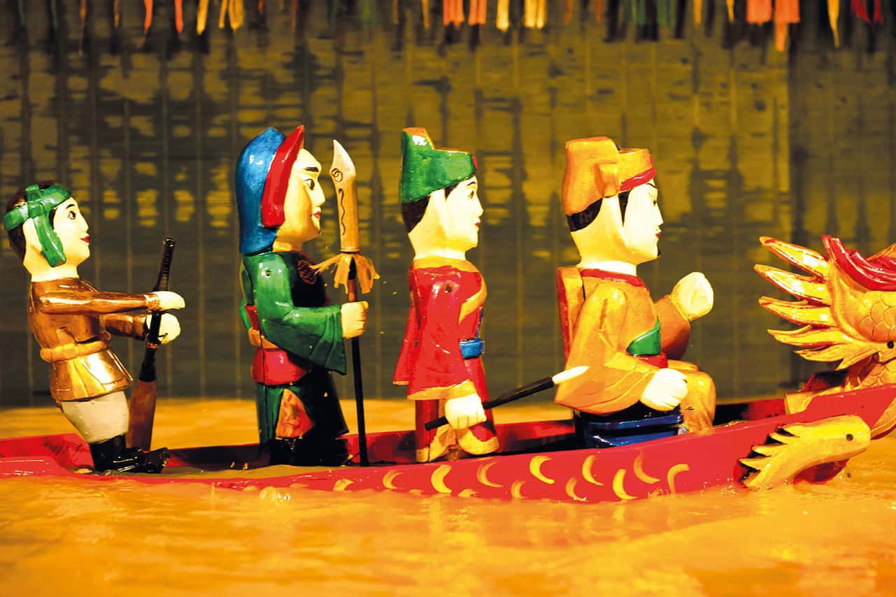 Watch a Water Puppet Show in Hanoi