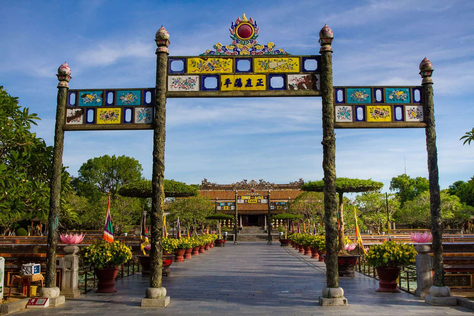 History of Imperial Closure in Hue