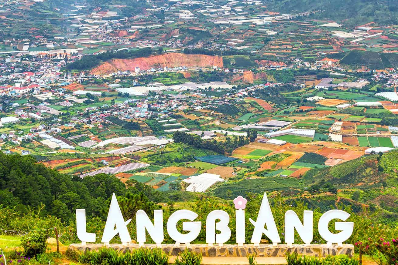 Langbiang mountain - beautiful mountains in Vietnam