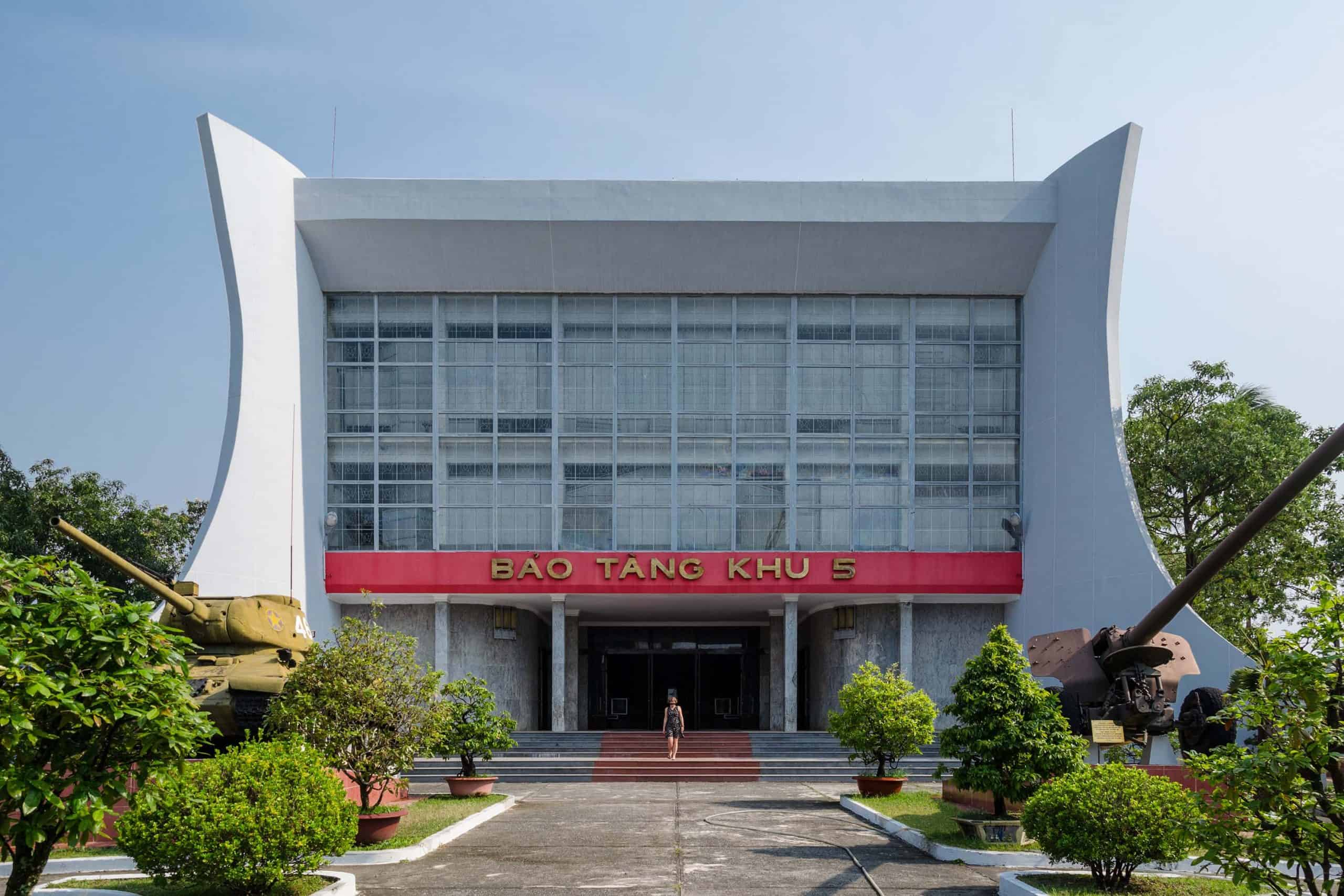 Overview of Ho Chi Minh museum in Da Nang