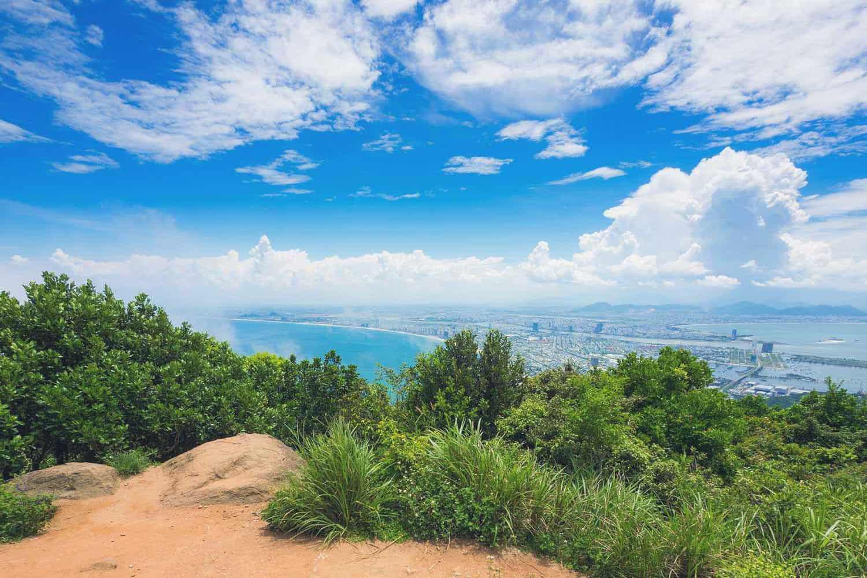 Son Tra Mountain in Vietnam