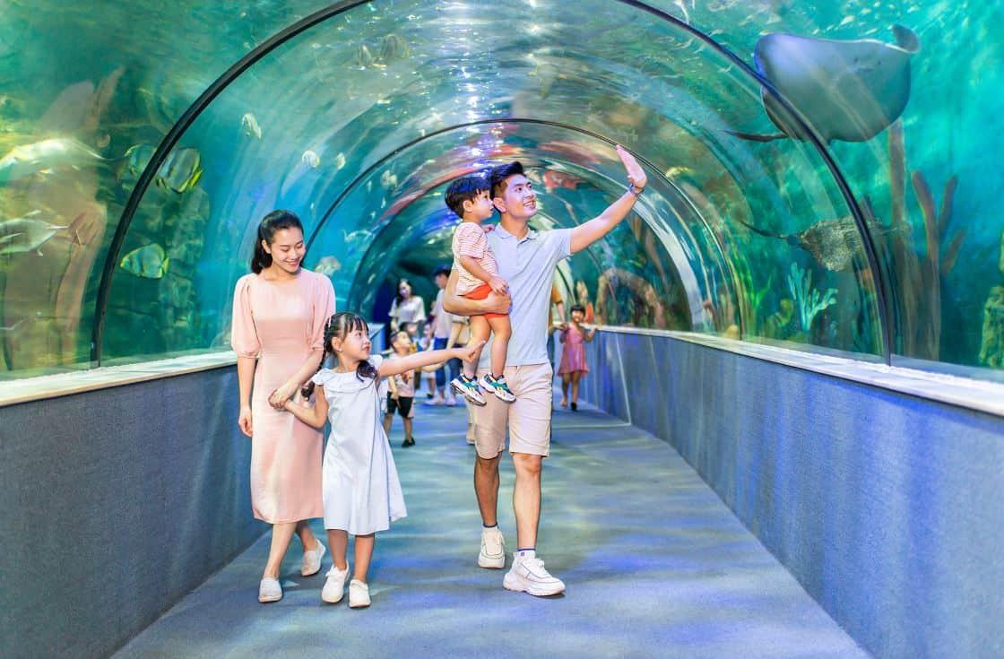 Aquarium in Vinpearl Land Nha Trang