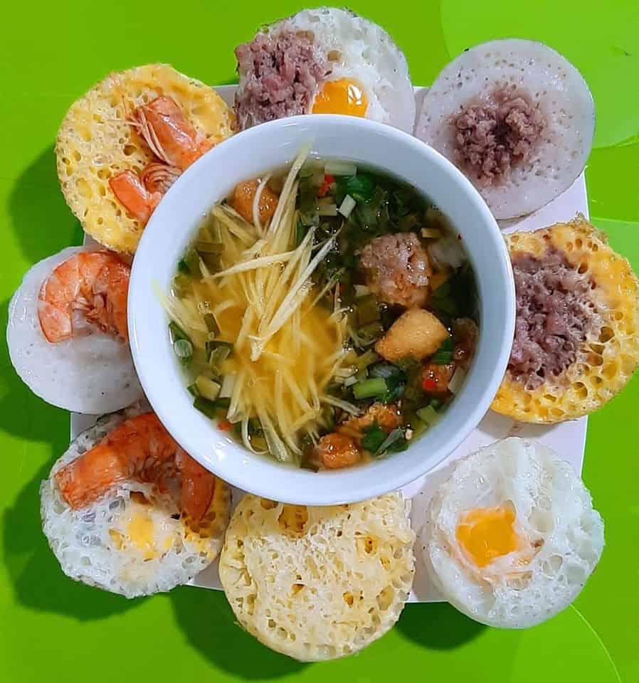 Can cake in Ninh Thuan
