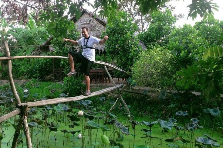 Why it is called monkey bridge