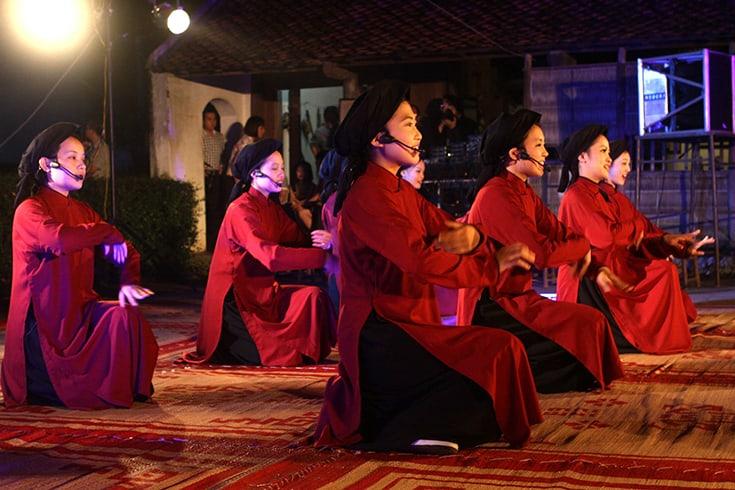 Xoan singing festival