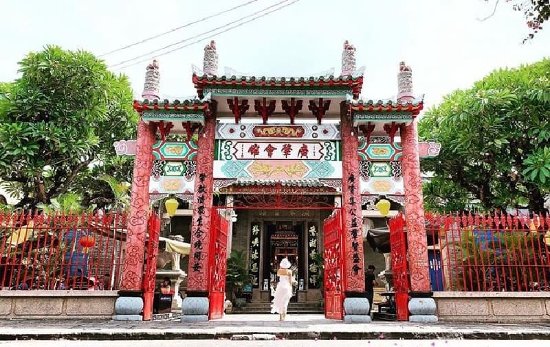 Assembly Hall of the Cantonese Chinese Congregation History