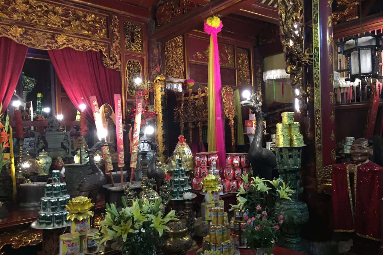 Highlights of Bach Ma temple