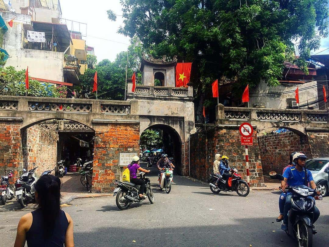 History of Old east gate