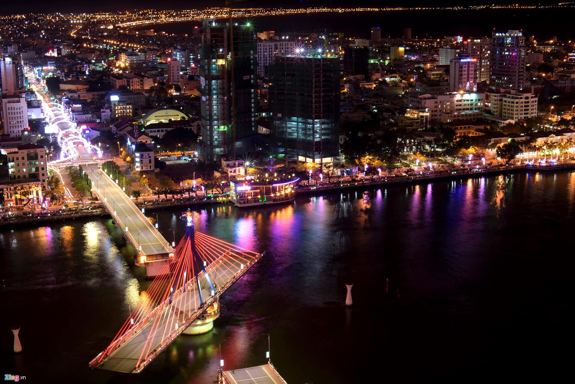 How does han river bridge swing