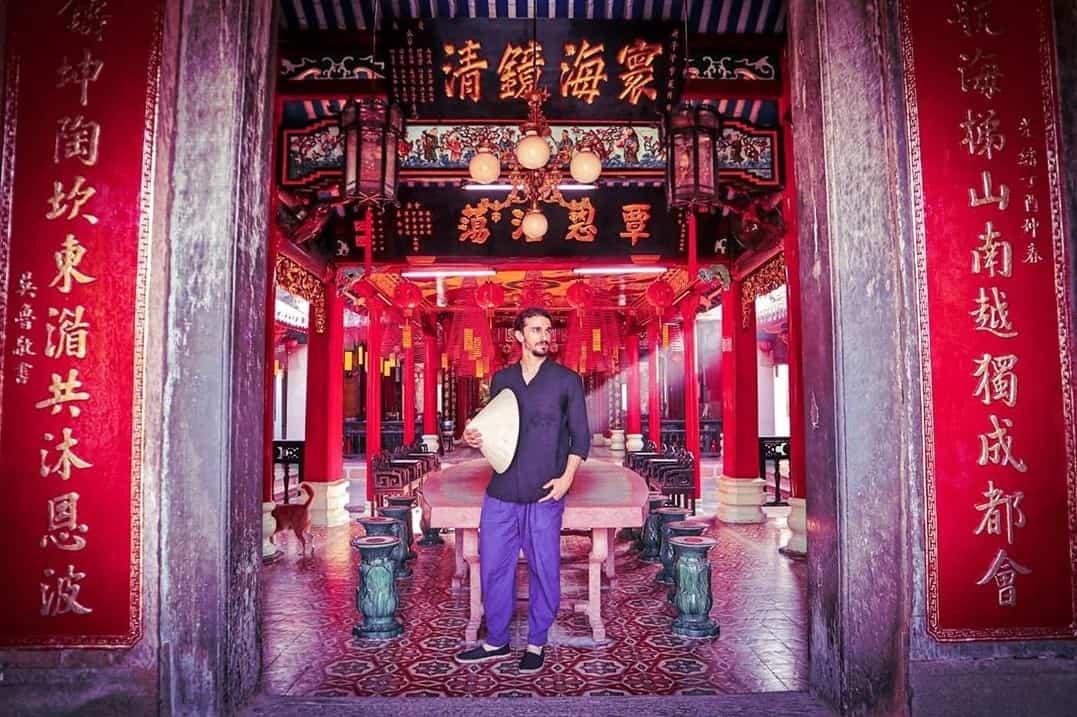 Inside Chuc Thanh pagoda