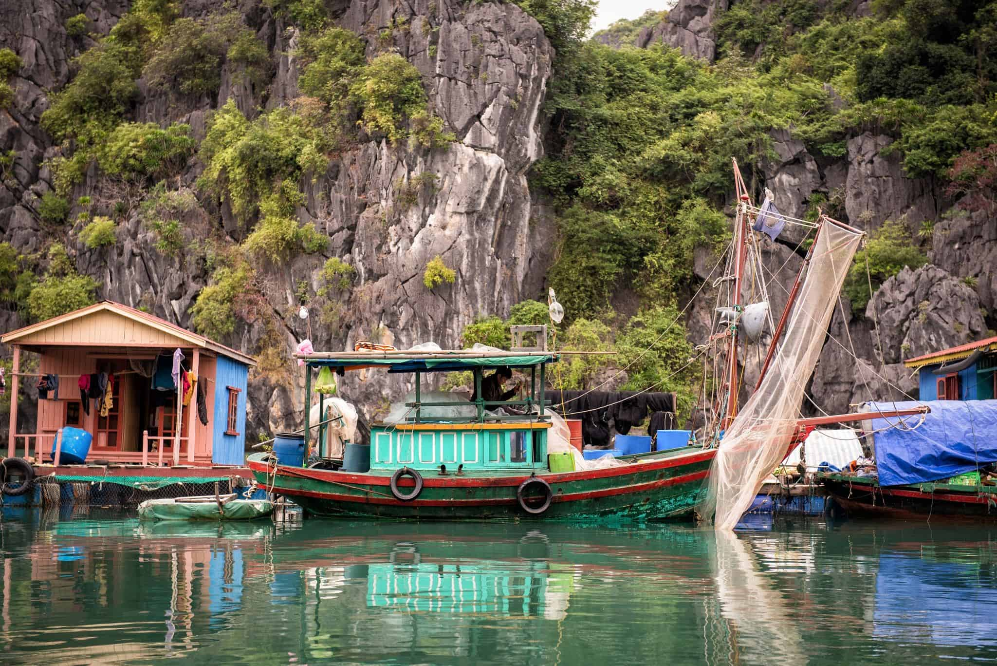 Join fishing activities in Vung Vieng fishing village