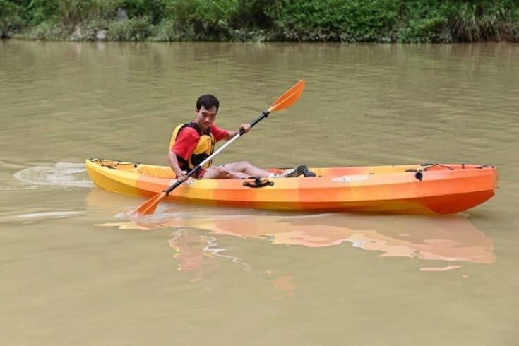 Nho Que River Kayaking