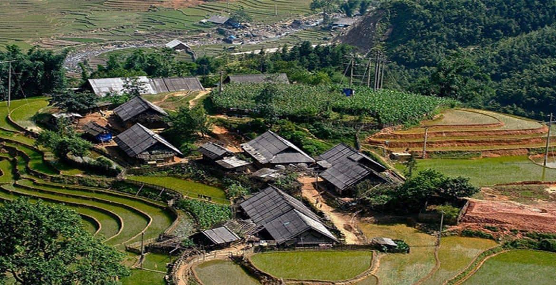 Overview of Lao Chai Village