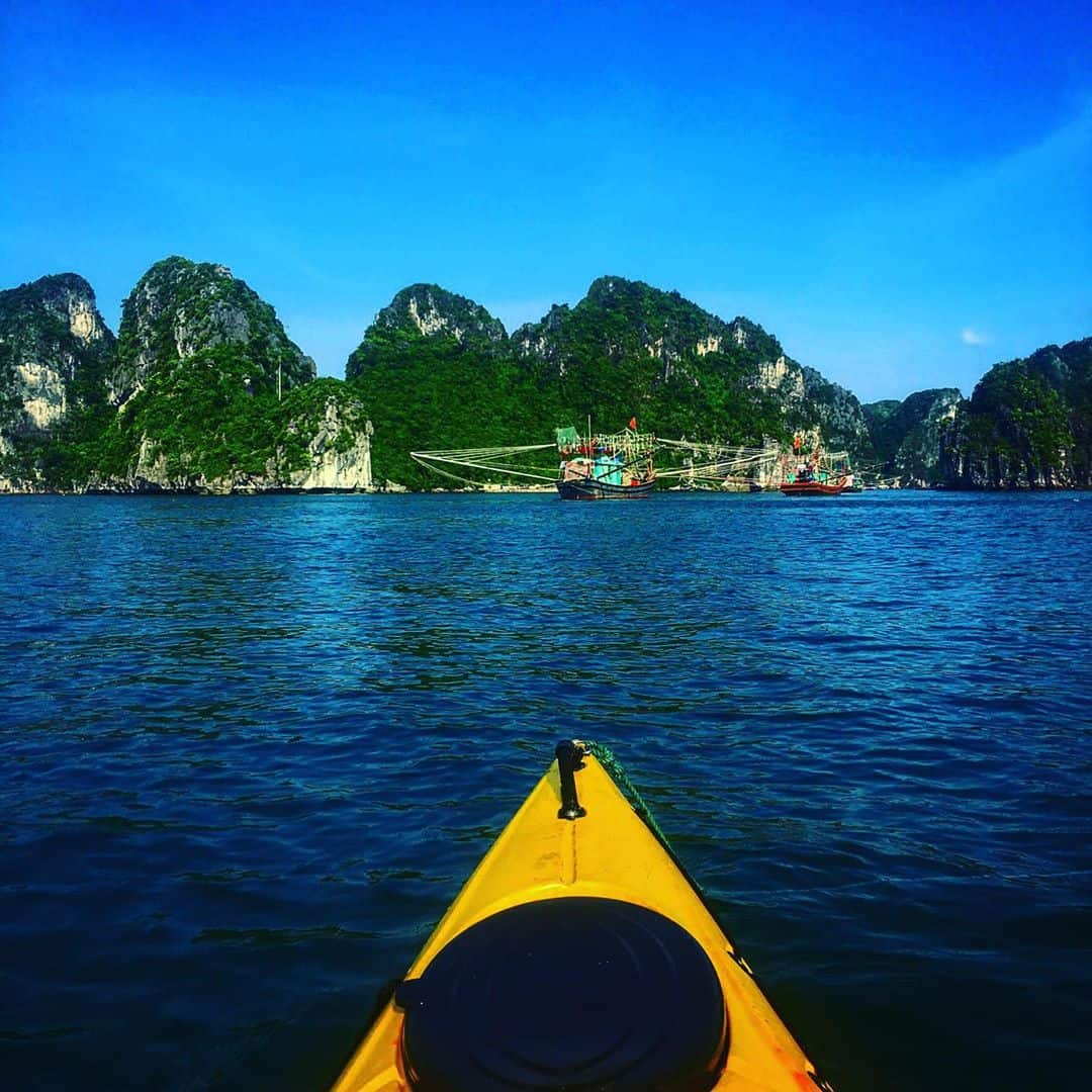 What is Kayaking in Halong Bay
