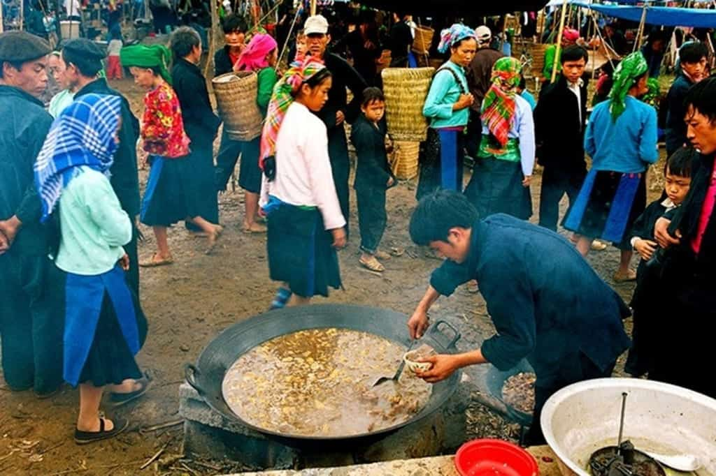 Bac Ha Sunday Market Food