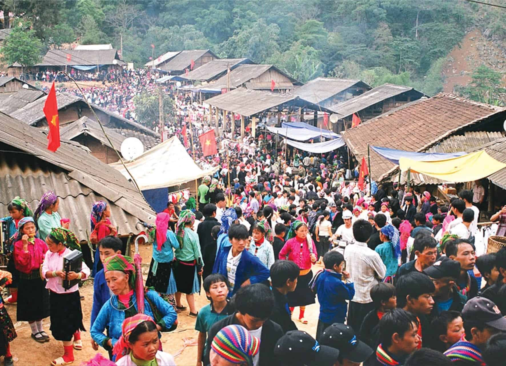 Bac Ha Sunday Market Highlights