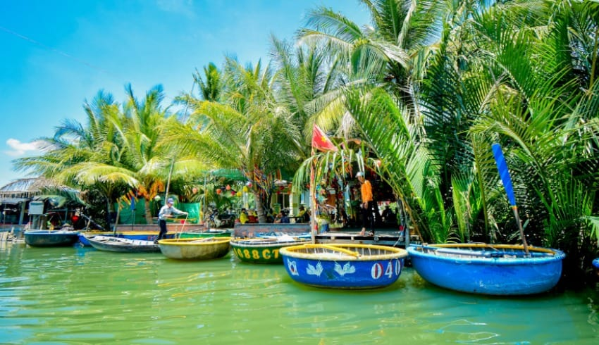 Cam Thanh Village Location