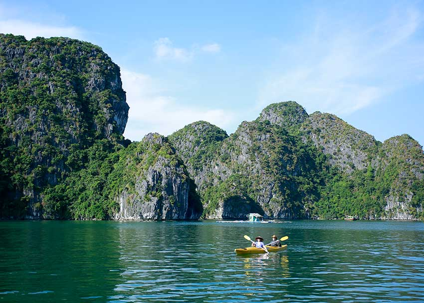 Cat Ba Kayaking Ideal Places
