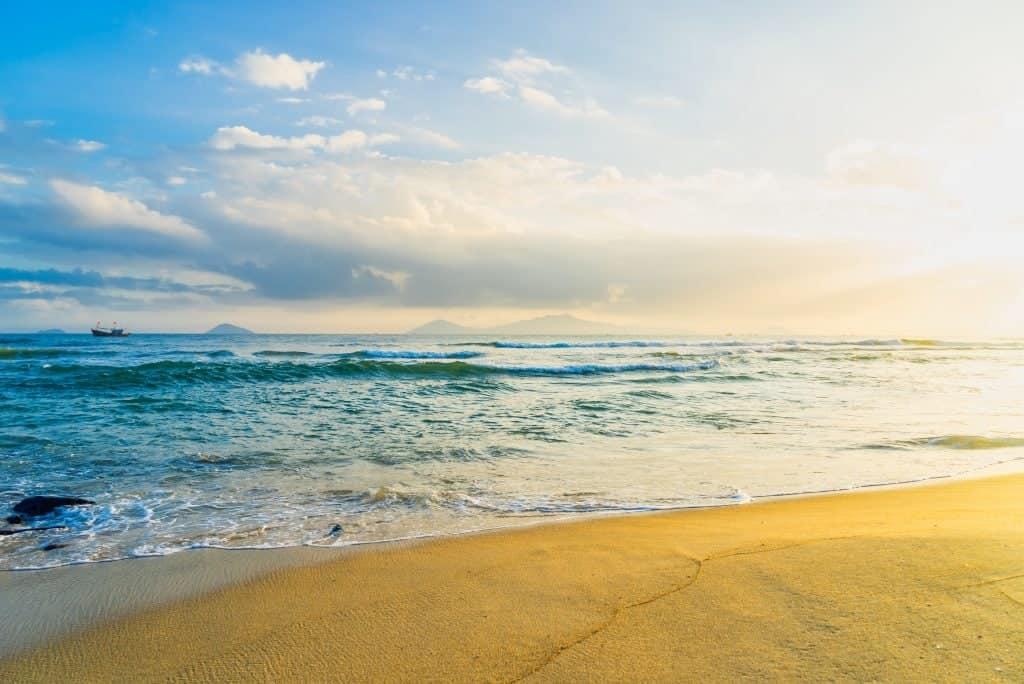 Cua Dai Beach Sunset
