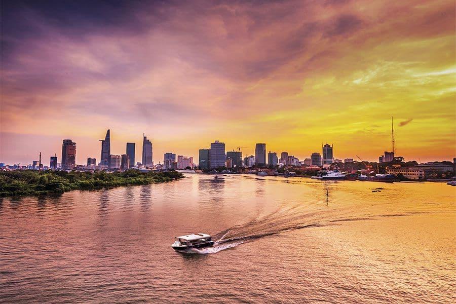 History of Saigon river