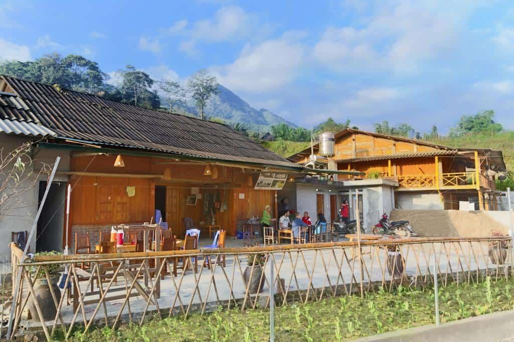 Homestay in Ta Van village sapa