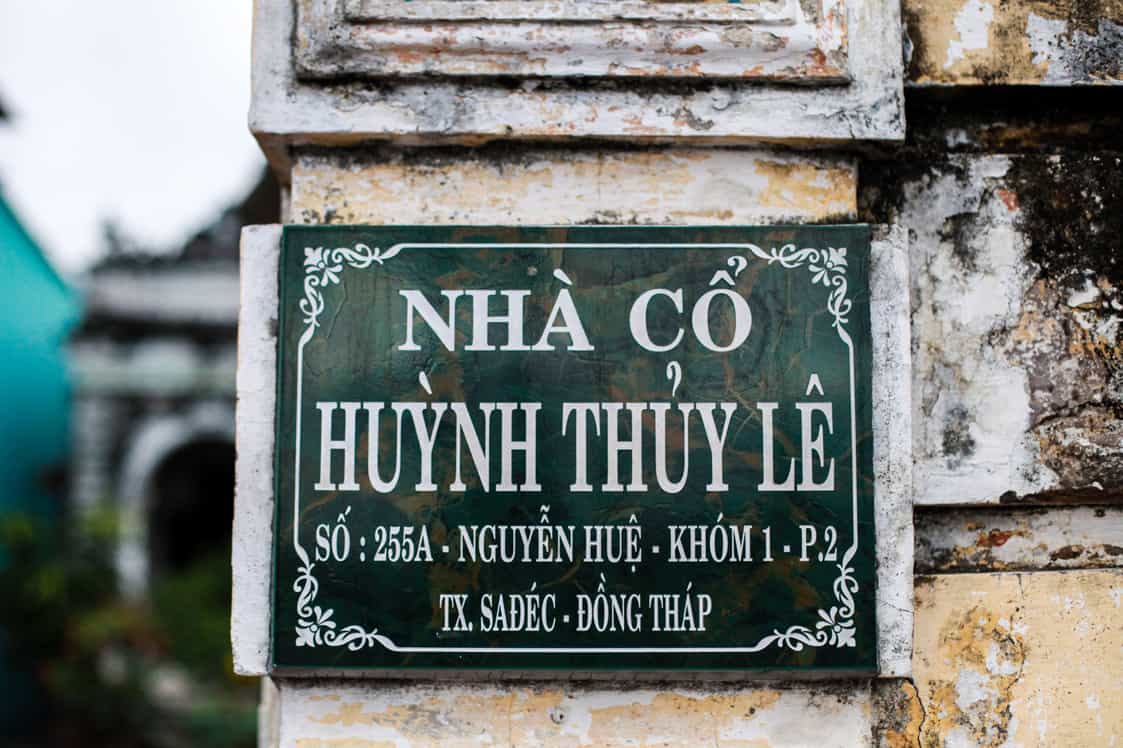 Huynh Thuy Le Old House Address