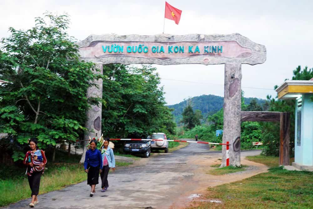 Kon Ka Kinh National Park Get to