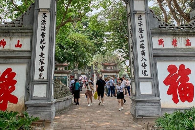 Legend of Ngoc Son temple