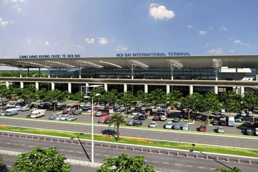 Noi Bai Airport - airports nearest Halong bay