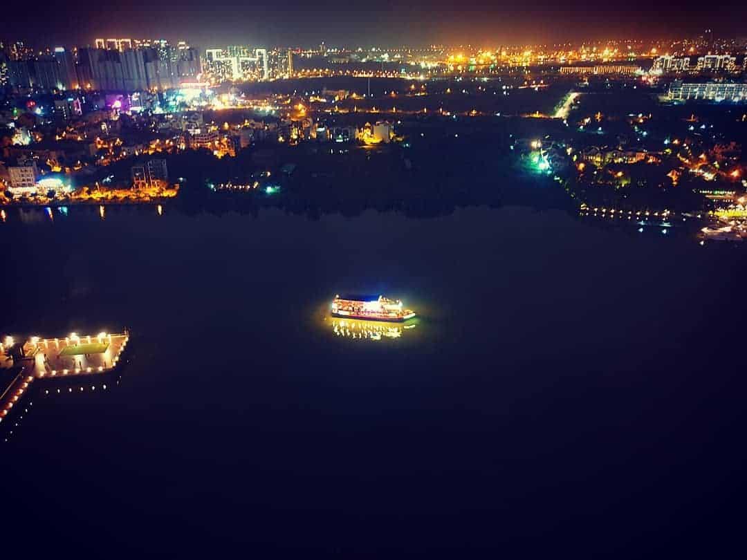 Overview of Saigon River